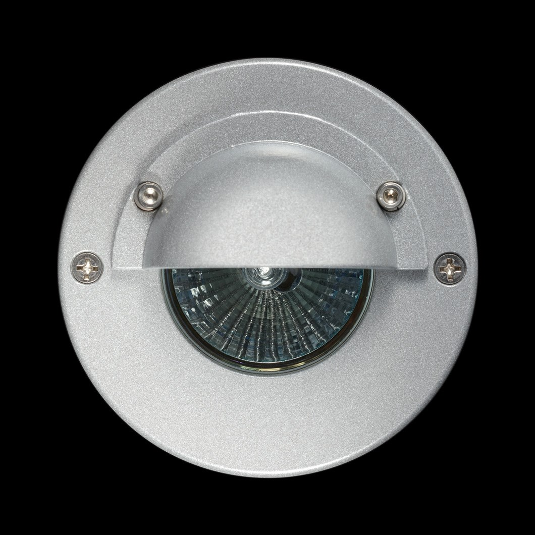 Hunza Step Lite Eyelid Round Exterior IP68 Low Level Light| Image : 1