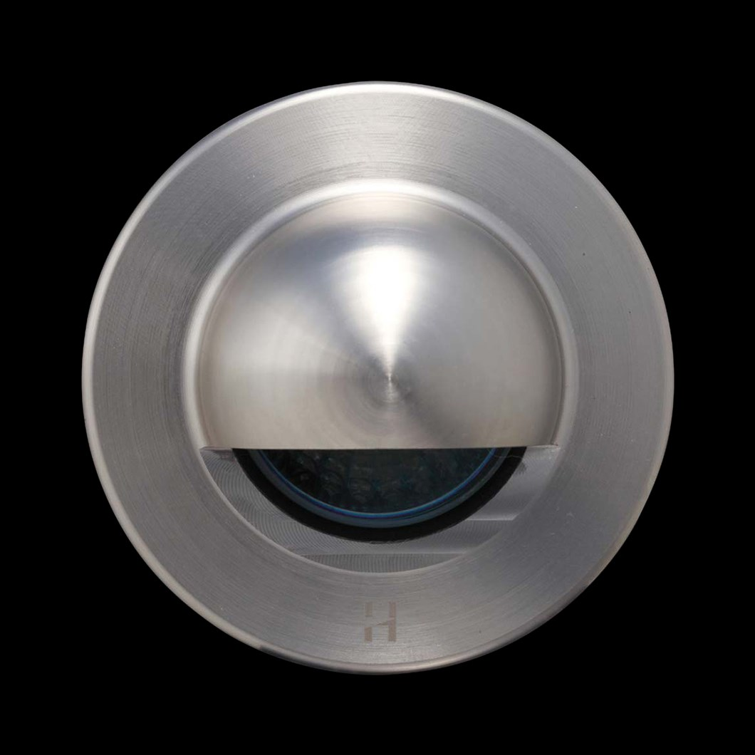 Hunza Step Lite Solid Eyelid Round Exterior IP68 Low Level Light| Image : 1