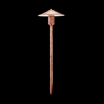 Hunza Tier Lite Exterior IP66 Spike Mounted Bollard Light