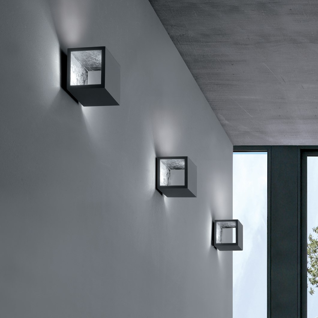 Icone Cubo Wall Light Darklight Design Lighting