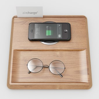 Koncept Aircharge Wireless Charging Valet Tray