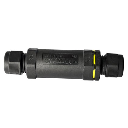 DLD IP68 Straight Exterior Connector Long 5 Pole