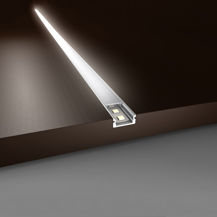 LED Profilelement AU Flat Niche Alu Profile| Image : 1