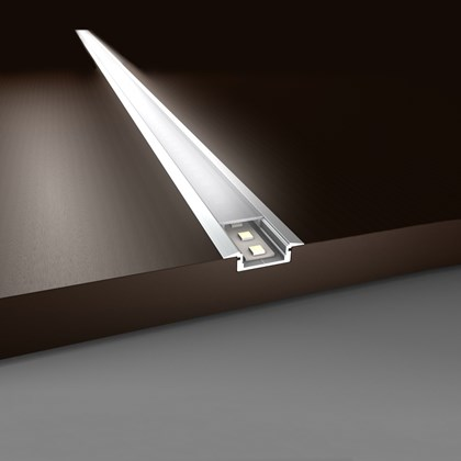 LED Profilelement ET Flat Niche Alu Profile