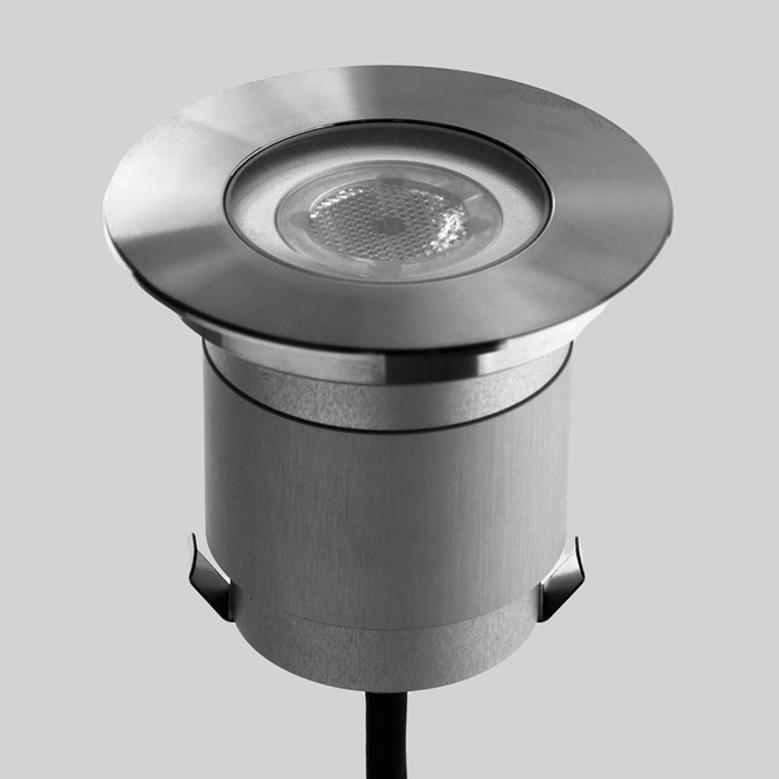 LLD Agon Round 230V Outdoor IP67 LED Recessed Floor Uplight | Image:1