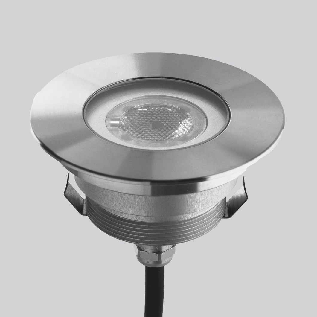 LLD Agon Round Outdoor IP67 LED Recessed Floor Uplight| Image:1