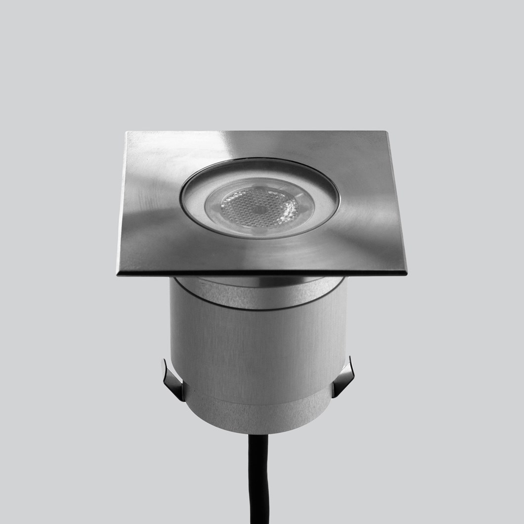 LLD Agon Square 230V Outdoor IP67 LED Recessed Floor Uplight| Image : 1