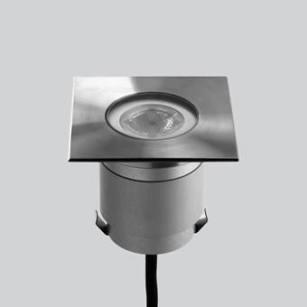 LLD Agon Square 230V Outdoor IP67 LED Recessed Floor Uplight