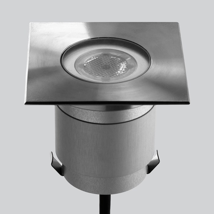 LLD Agon Square 230V Outdoor IP67 LED Recessed Floor Uplight | Image:1