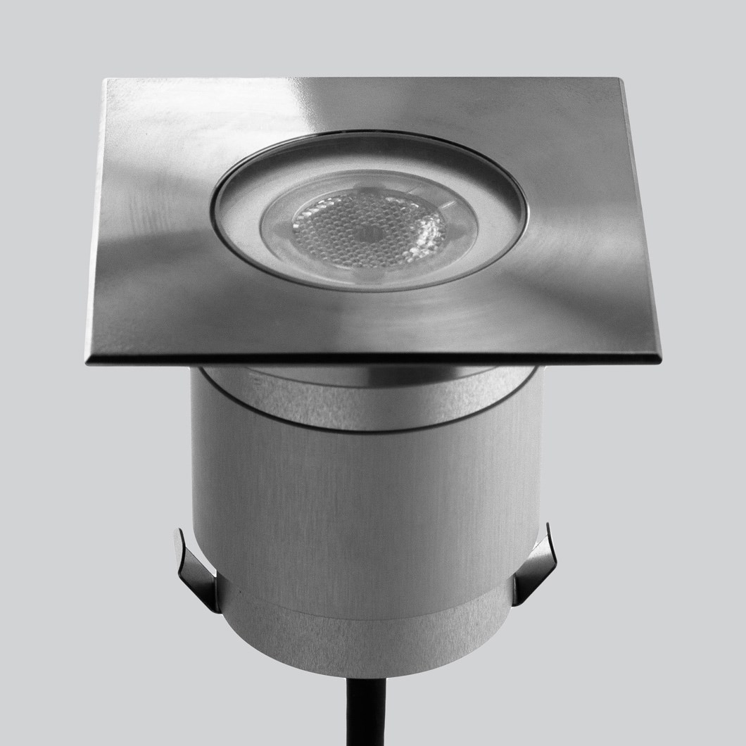 LLD Agon Square 230V Outdoor IP67 LED Recessed Floor Uplight| Image:1