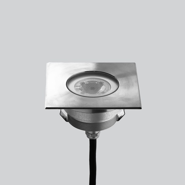 LLD Agon Square Outdoor IP67 LED Recessed Floor Uplight| Image : 1