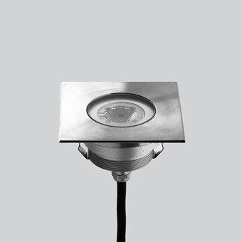 LLD Agon Square Outdoor IP67 LED Recessed Floor Uplight