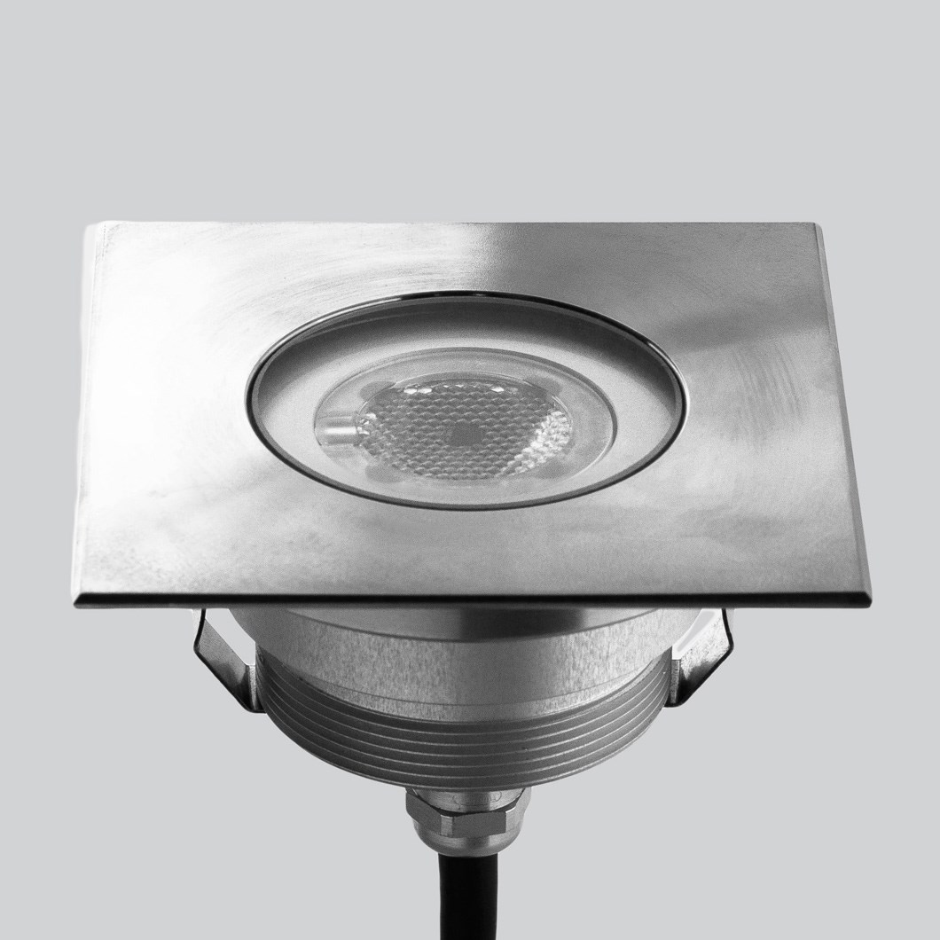 LLD Agon Square Outdoor IP67 LED Recessed Floor Uplight| Image:1