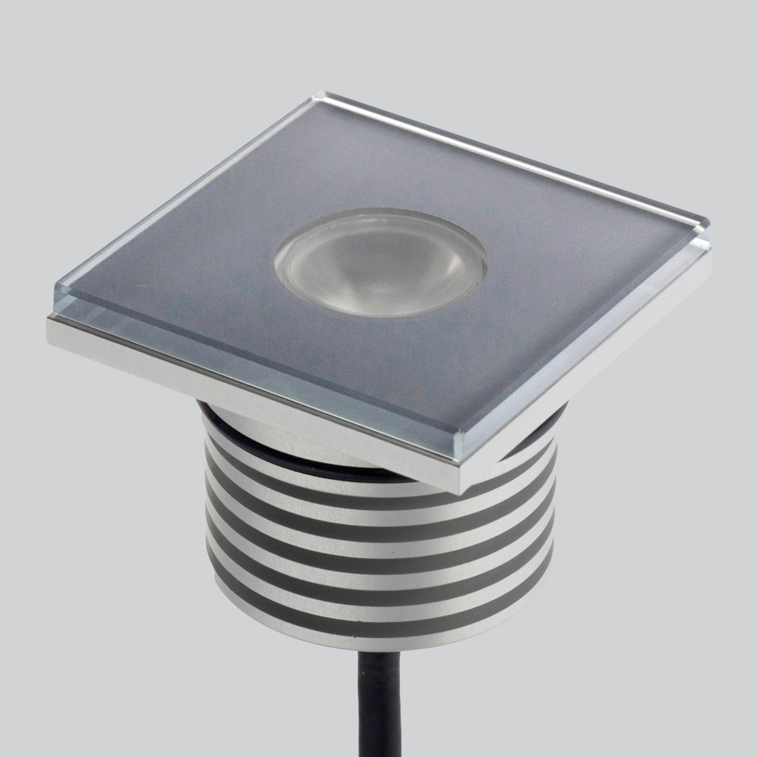 LLD Arke Square M Outdoor IP67 LED Recessed Path Light| Image:1