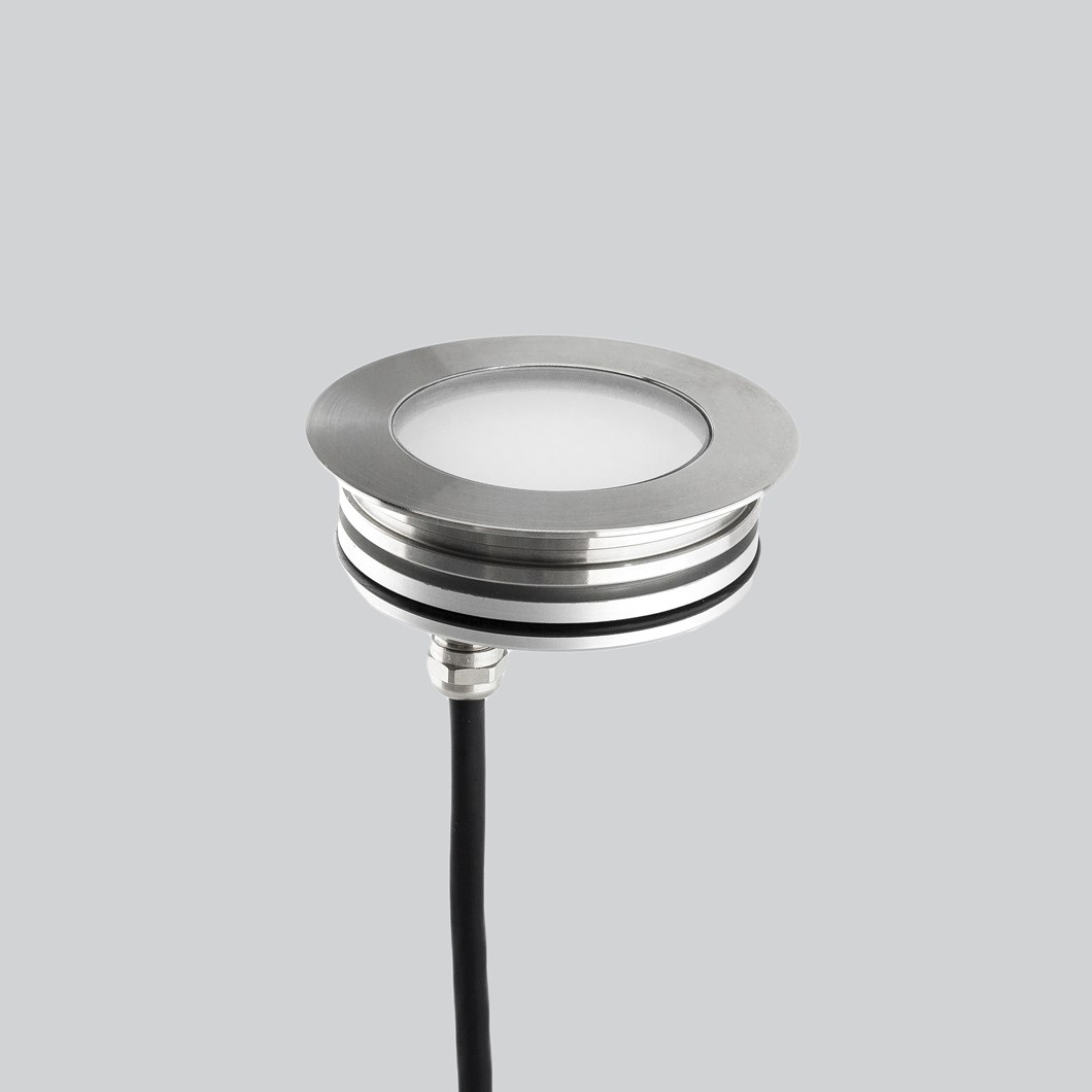 LLD Aura Round M Outdoor IP67 LED Recessed Floor Uplight| Image : 1