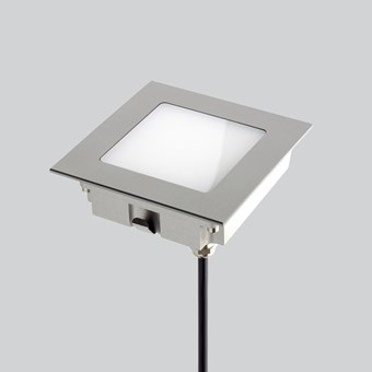 LLD Aura Square L Outdoor IP67 LED Recessed Floor Uplight