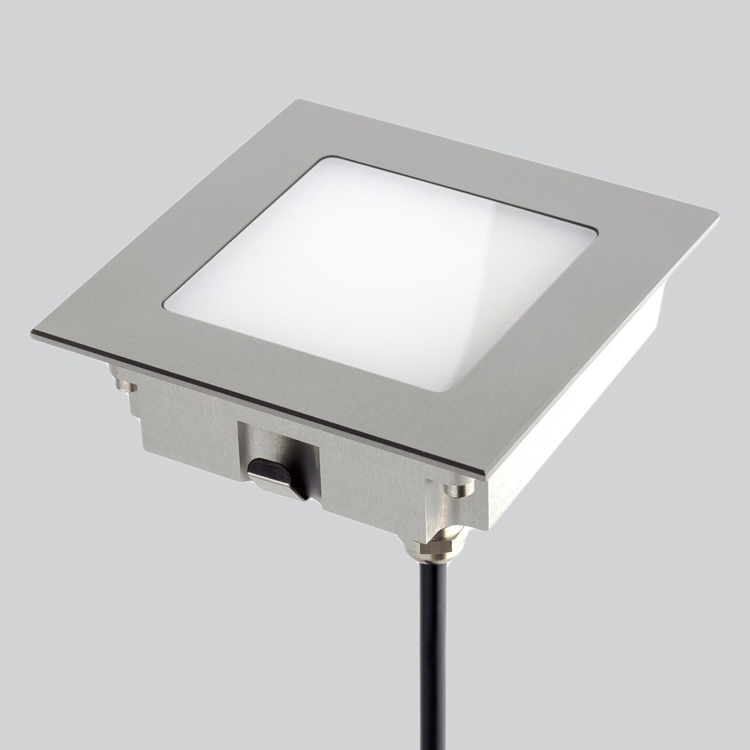 LLD Aura Square L Outdoor IP67 LED Recessed Floor Uplight| Image:1