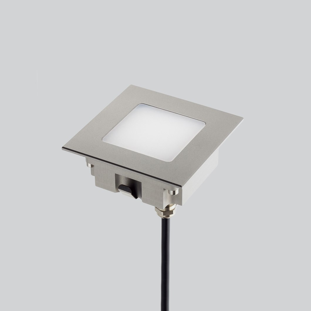 LLD Aura Square M Outdoor IP67 LED Recessed Floor Uplight| Image : 1
