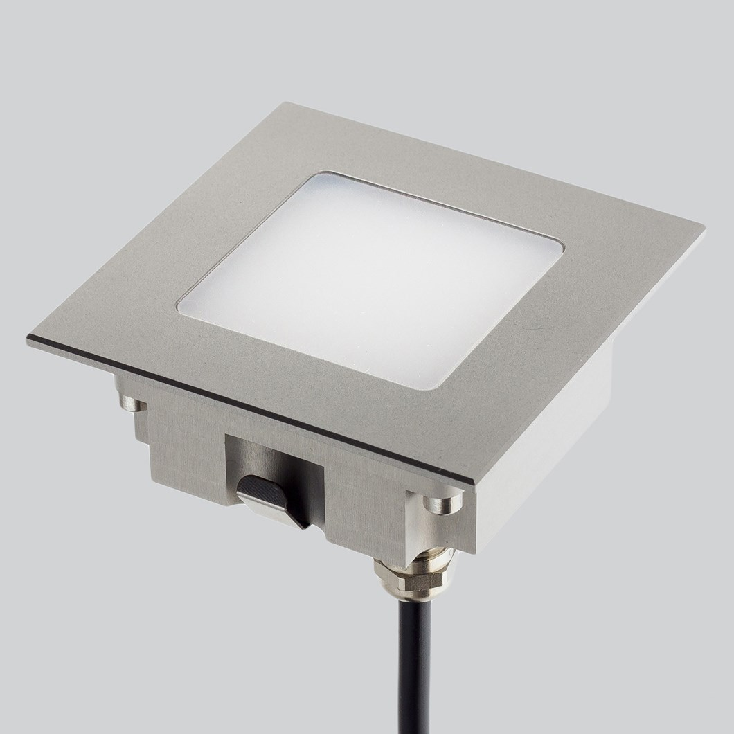 LLD Aura Square M Outdoor IP67 LED Recessed Floor Uplight| Image:1