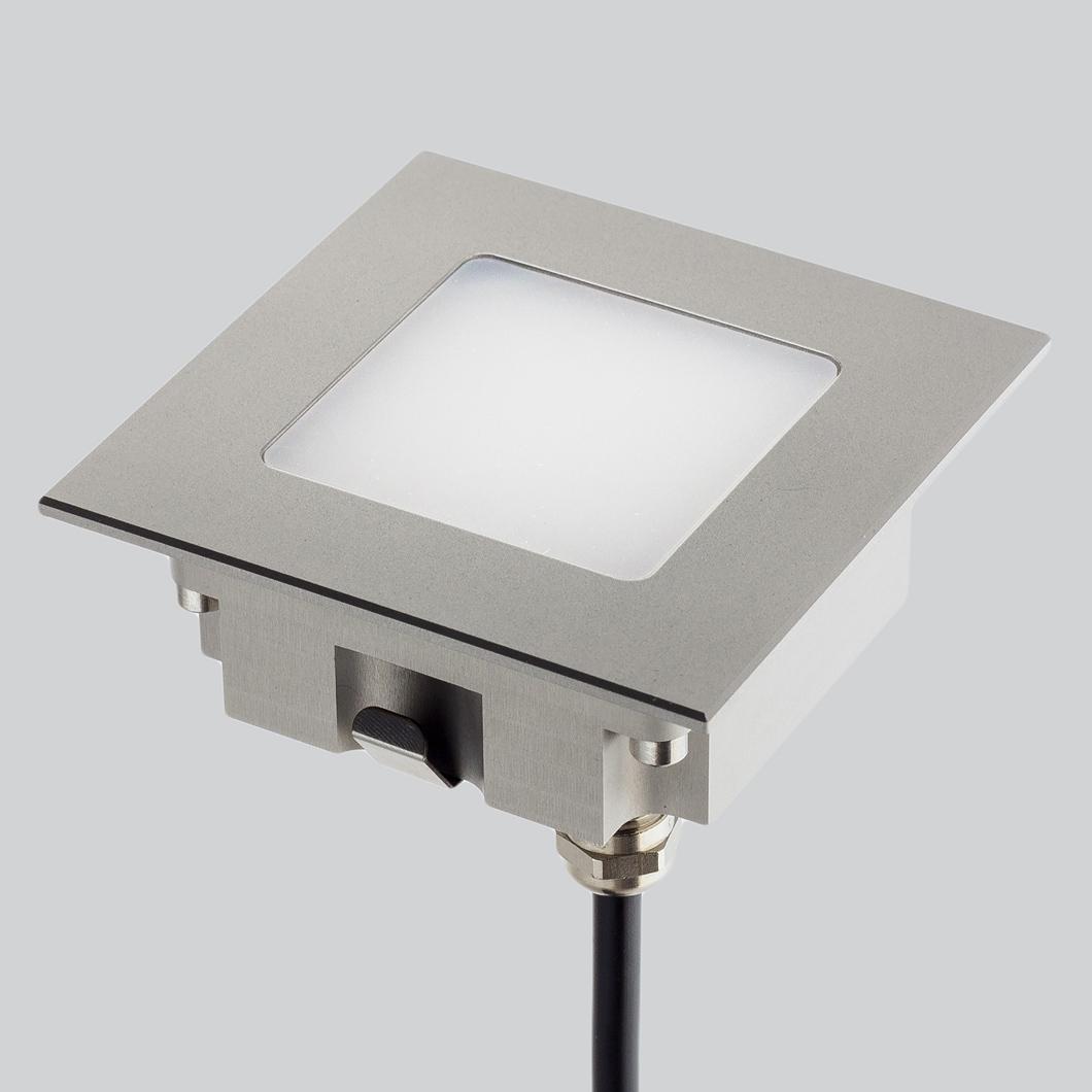 Lld Aura Square M Outdoor Ip67 Led Recessed Floor Uplight Darklight Design Lighting Design Supply