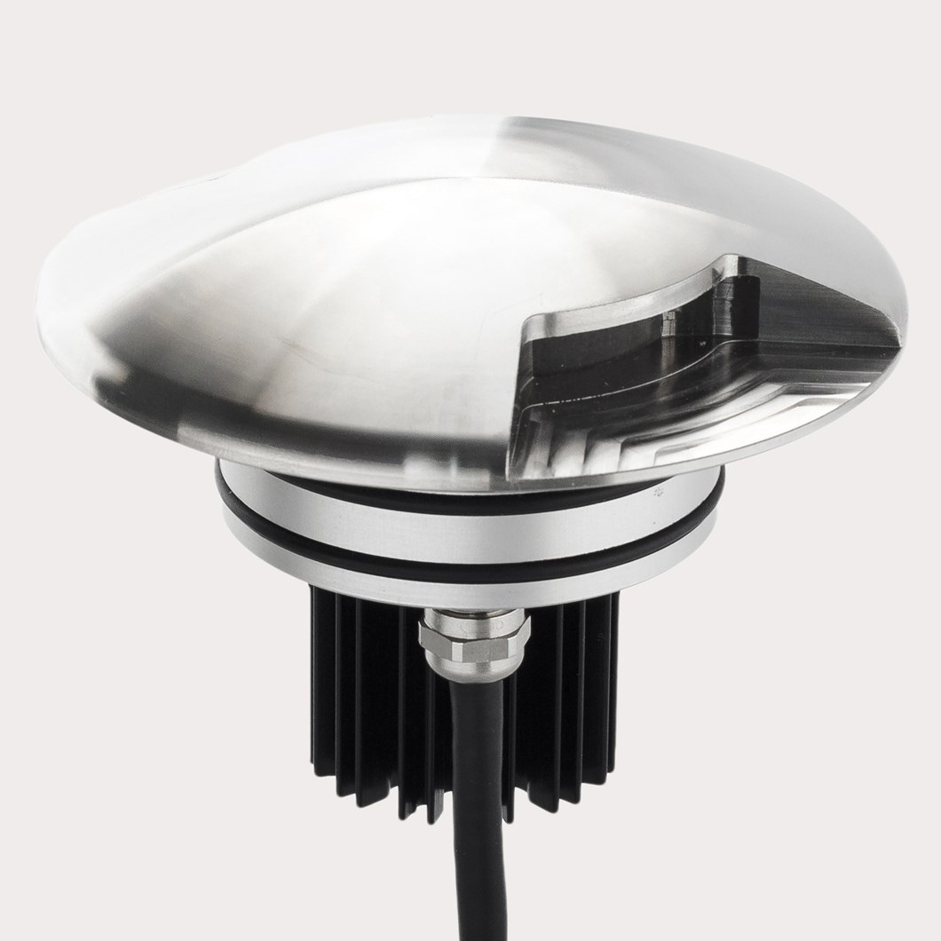 LLD Bia Maxi Round Dual Emission Outdoor IP67 LED Recessed Path Light| Image:1