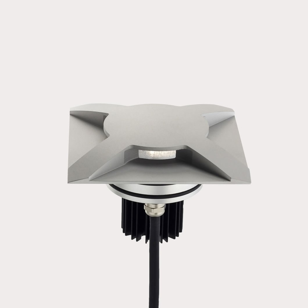 LLD Bia Maxi Square Four Emission Outdoor IP67 LED Recessed Path Light| Image:1