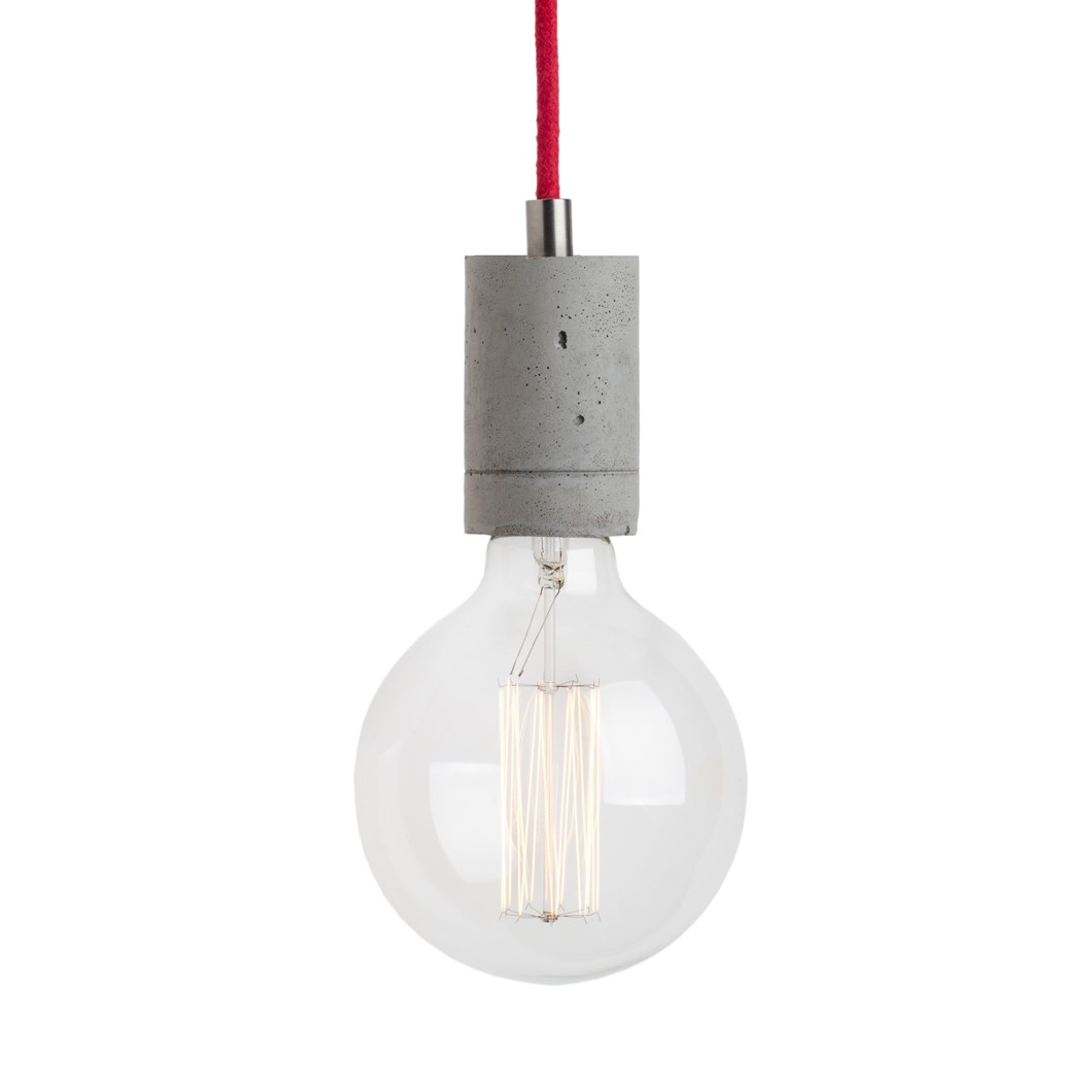 Darklight Design Edison Concrete Pendant| Image : 1
