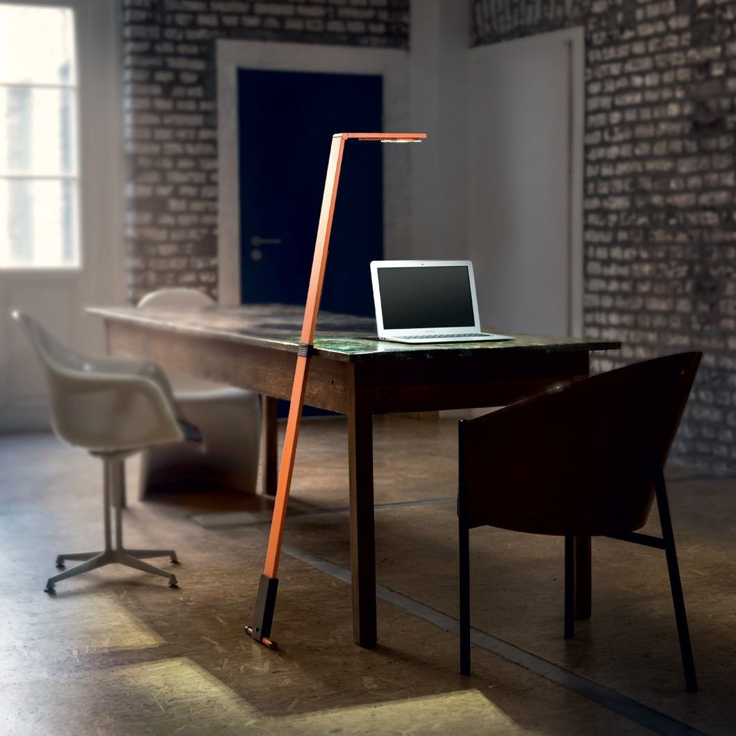 Luctra Flex Human Centric LED Mobile Floor Lamp| Image:1