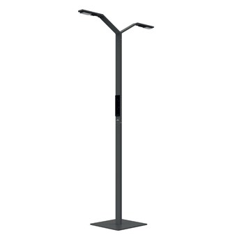 Luctra Linear Twin Human Centric LED Floor Lamp