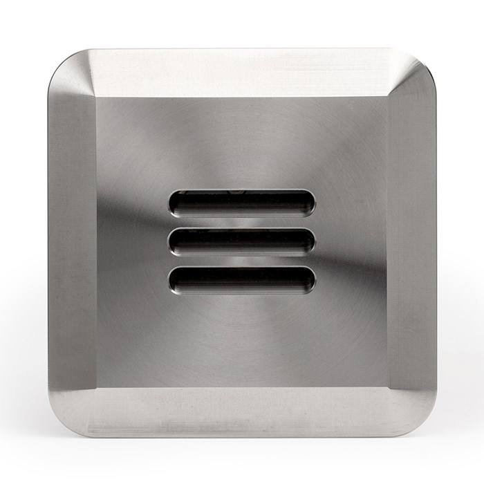 LuxR LED Modux 4 Louvre Large Recessed Exterior IP68 Step Light| Image:1