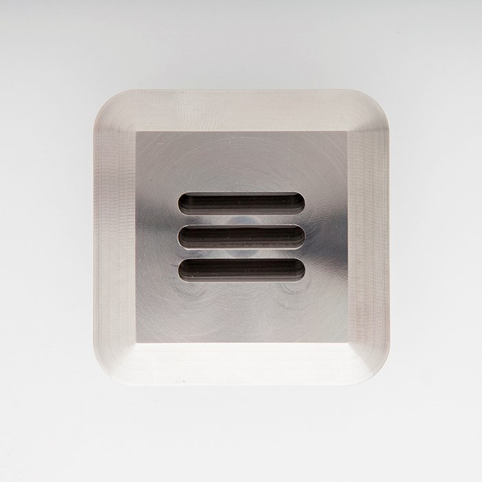 LuxR LED Modux 4 Louvre Recessed Exterior IP68 Step Light| Image:1
