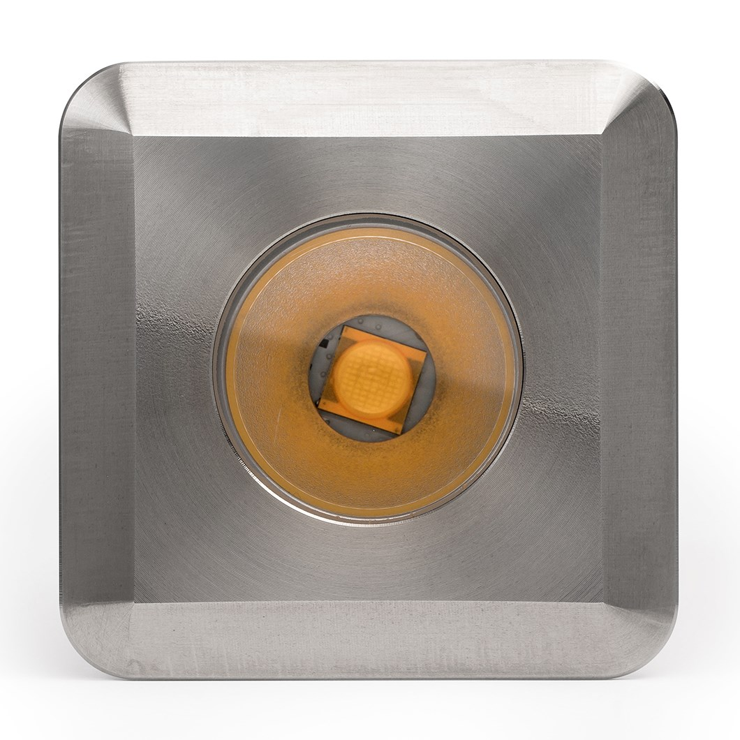 LuxR LED Modux 2 Square Large Recessed Exterior IP68 Uplight| Image:1