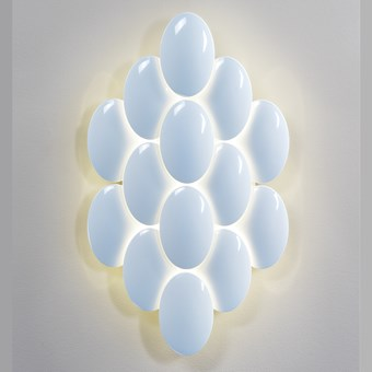 Milan Iluminacion Obolo Medium LED Wall Light