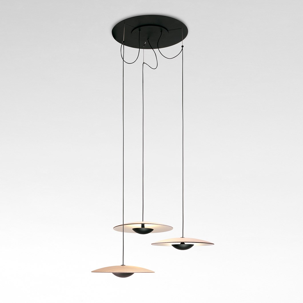 Marset Ginger Multiple Of 3 LED Pendant| Image:1