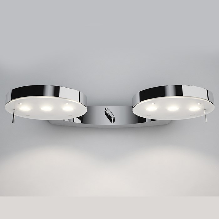 Milan Iluminacion 3-LED Double Wall Light| Image : 1