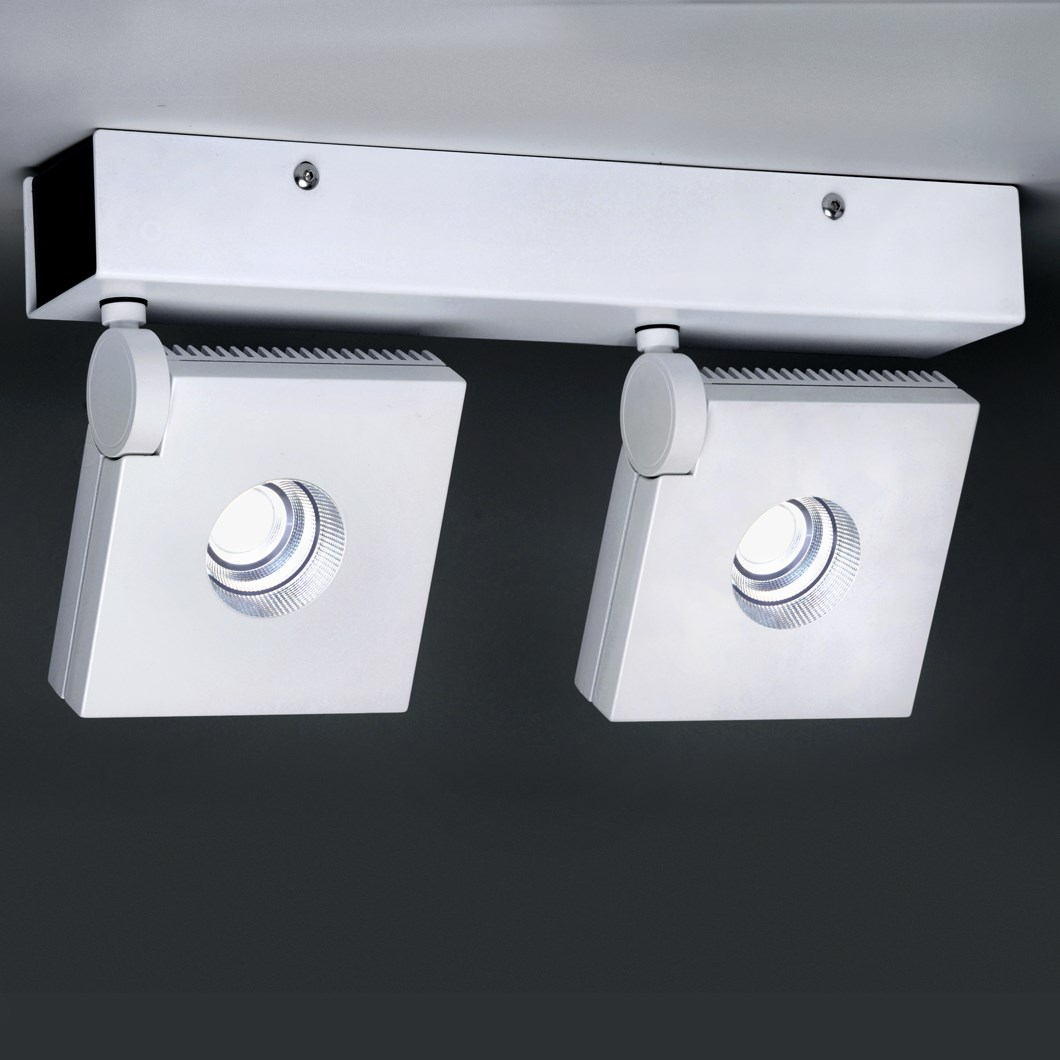 Milan Iluminacion Bridge Double Adjustable Ceiling Light| Image : 1