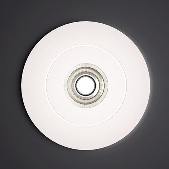 Milan Iluminacion Bridge Circular Semi-Recessed Ceiling Light
