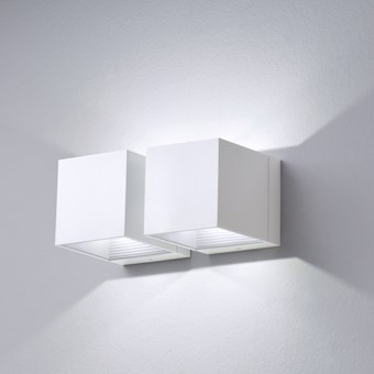 Milan Iluminacion Dau LED Double Up & Down Wall Light