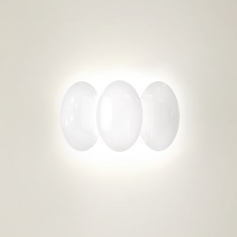 Milan Iluminacion Obolo Horizontal 3 LED Wall Light
