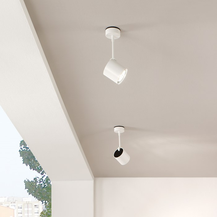 Milan Iluminacion Kronn Long Ceiling Mounted Spot Light| Image:1