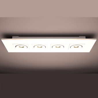 Milan Iluminacion Marc Rectangle LED Ceiling Light