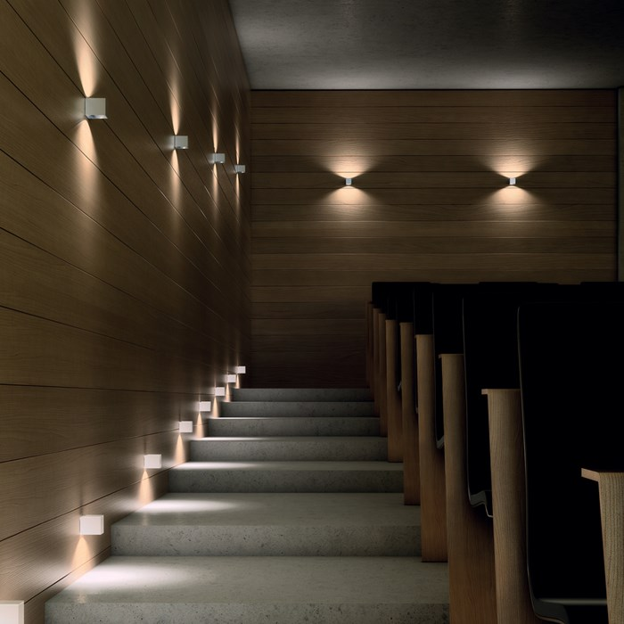 Milan Iluminacion Mini Dau LED Up & Down Wall Light| Image:1
