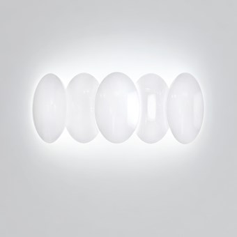Milan Iluminacion Obolo Horizontal 5 LED Wall Light