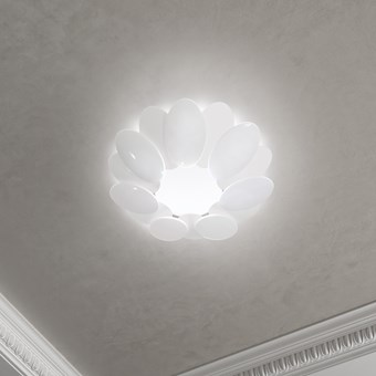 Milan Iluminacion Obolo Circular LED Ceiling Light