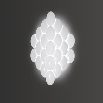 Milan Iluminacion Obolo Large LED Wall Light