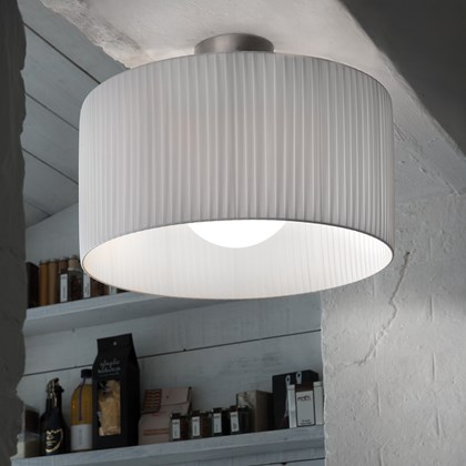 Morosini Fog Plisse Ceiling Light