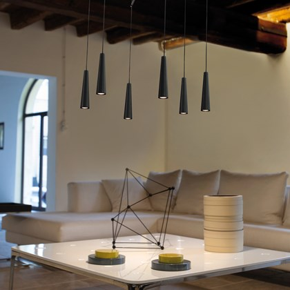 Morosini Mikado 6 Drop LED Pendant