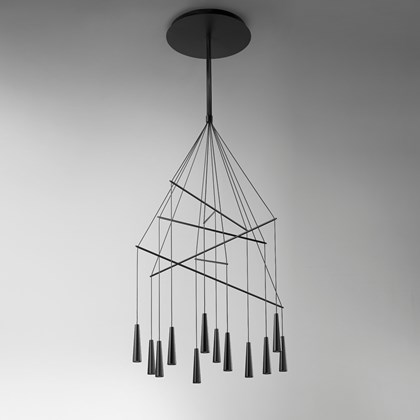 Morosini Mikado 12 Drop LED Pendant