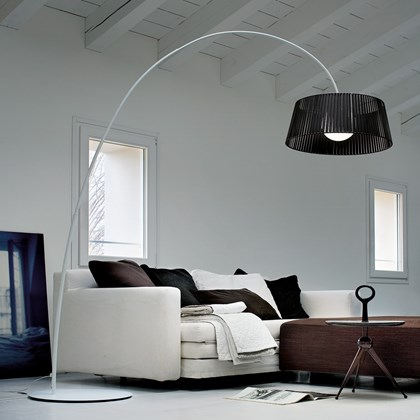 Morosini Ribbon Arc Floor Lamp