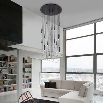 Morosini Santral 16 Drop LED Pendant